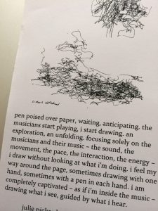 Julie Pickard draws music