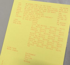 Paper Wraps Stone: with copywriting by Nick Asbury for Arjowiggins, by Studio Build