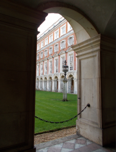 Fountain Court in Hampton Court Palace