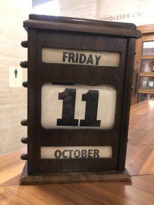 1930s clock at Senate House library