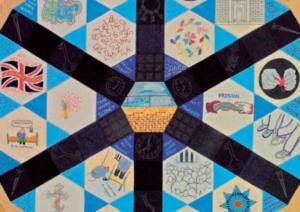 Quilt showing HMP Wandsworth