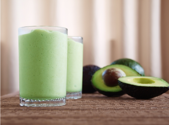 Picture of avocado margarita drink, used when writing blogs for Clean Cut Media
