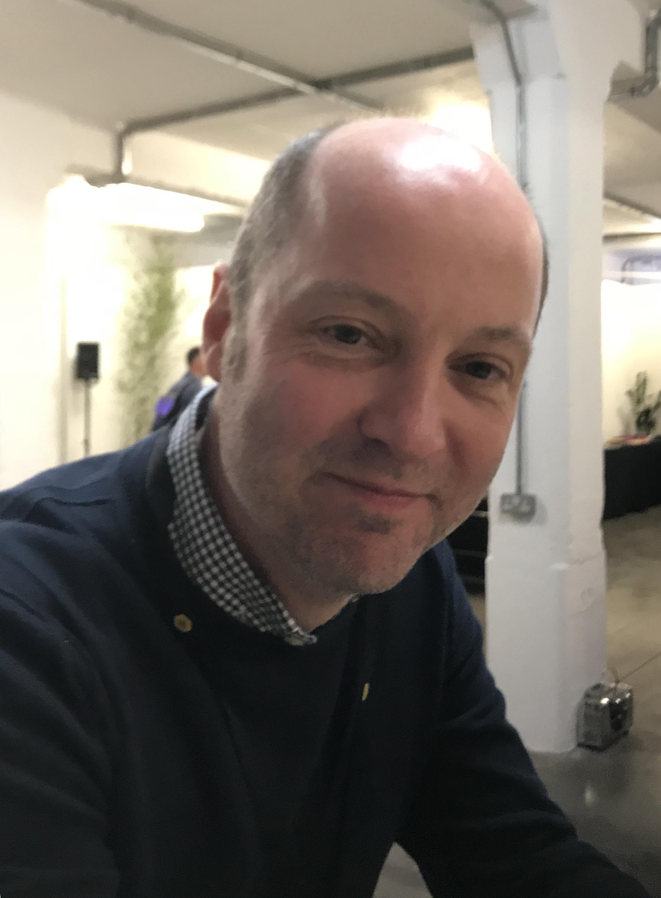 Copywriter Nick Asbury