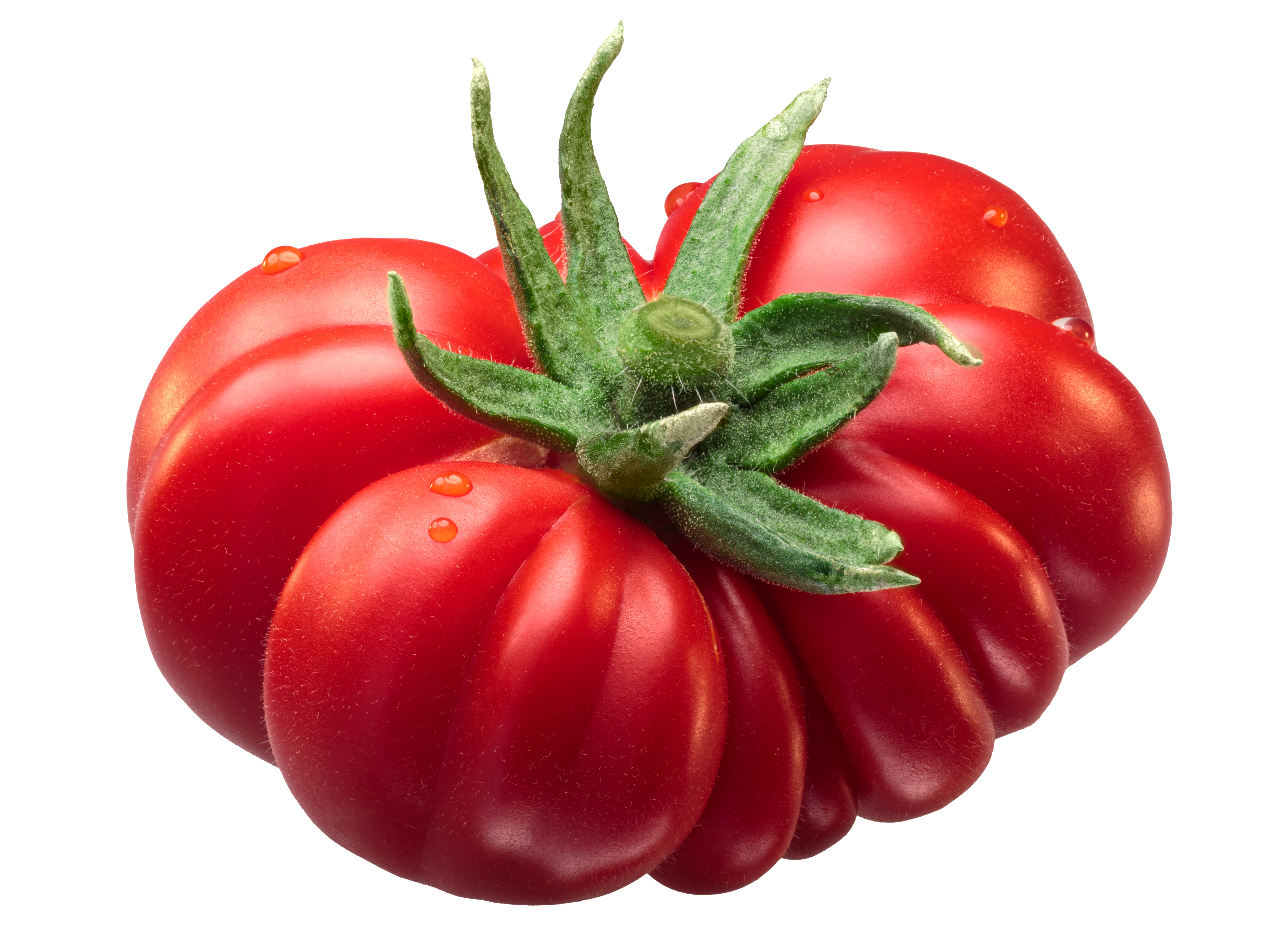 Picture of a tomato. Even a tomato can inspire mindful creative writing.